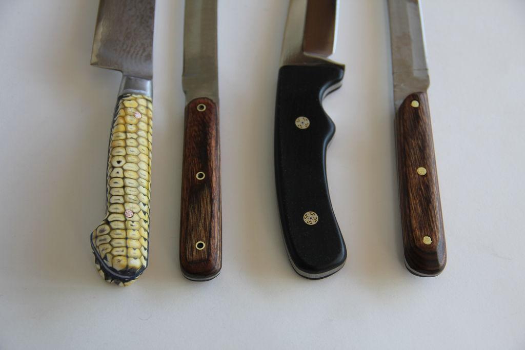 Наборная ручка для ножа: как сделать своими руками из оргстекла, дерева, бересты, кожи, текстолита