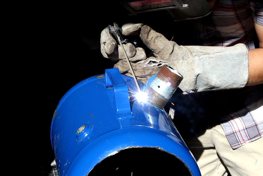 Как сделать кузнечный горн на газу своими руками чертежи и технология сооружения